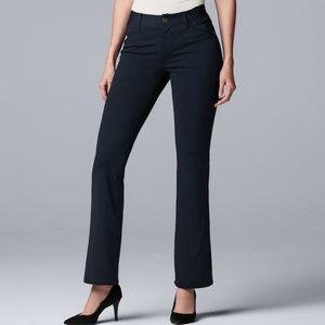 Simply Vera Vera Wang Bootcut Slimming Pants